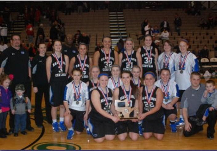 Harrison Central Girl's Varsity Basketball 2014 OVAC 4A Champions