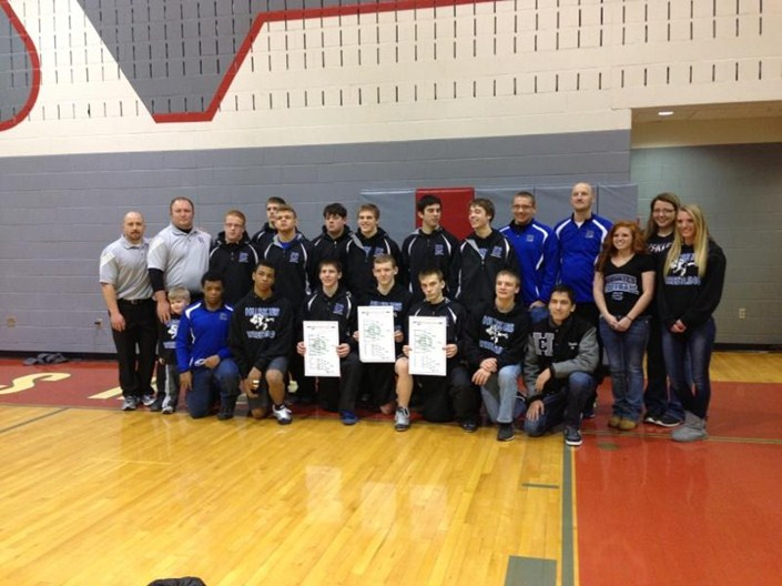 2014 Division 3 Wrestling Sectional Champions