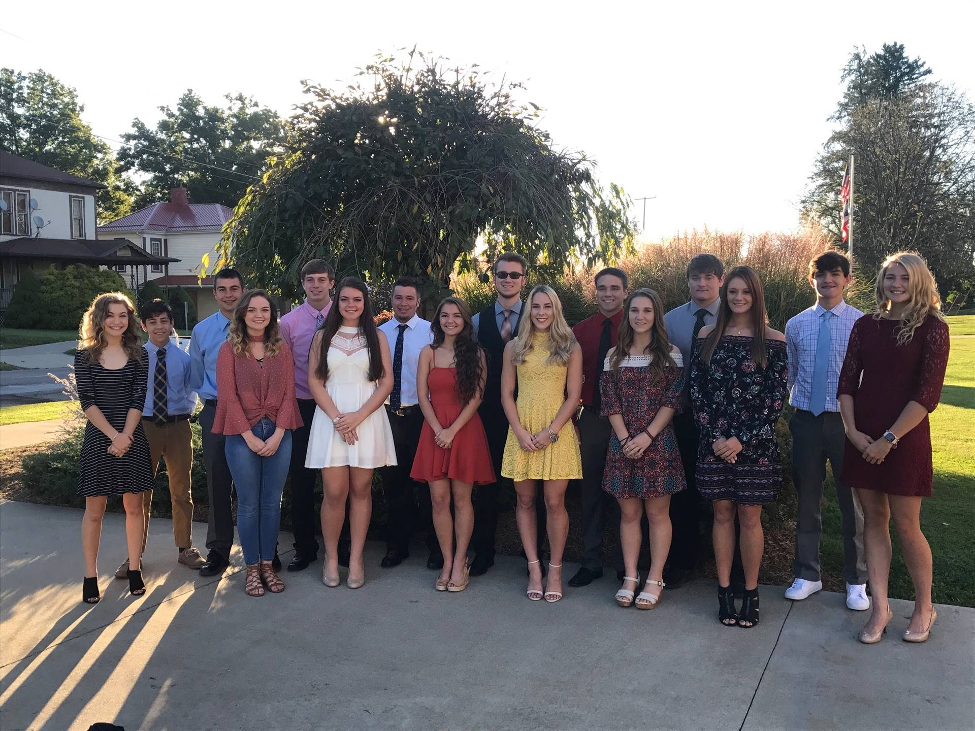 Homecoming Court 2017 picture