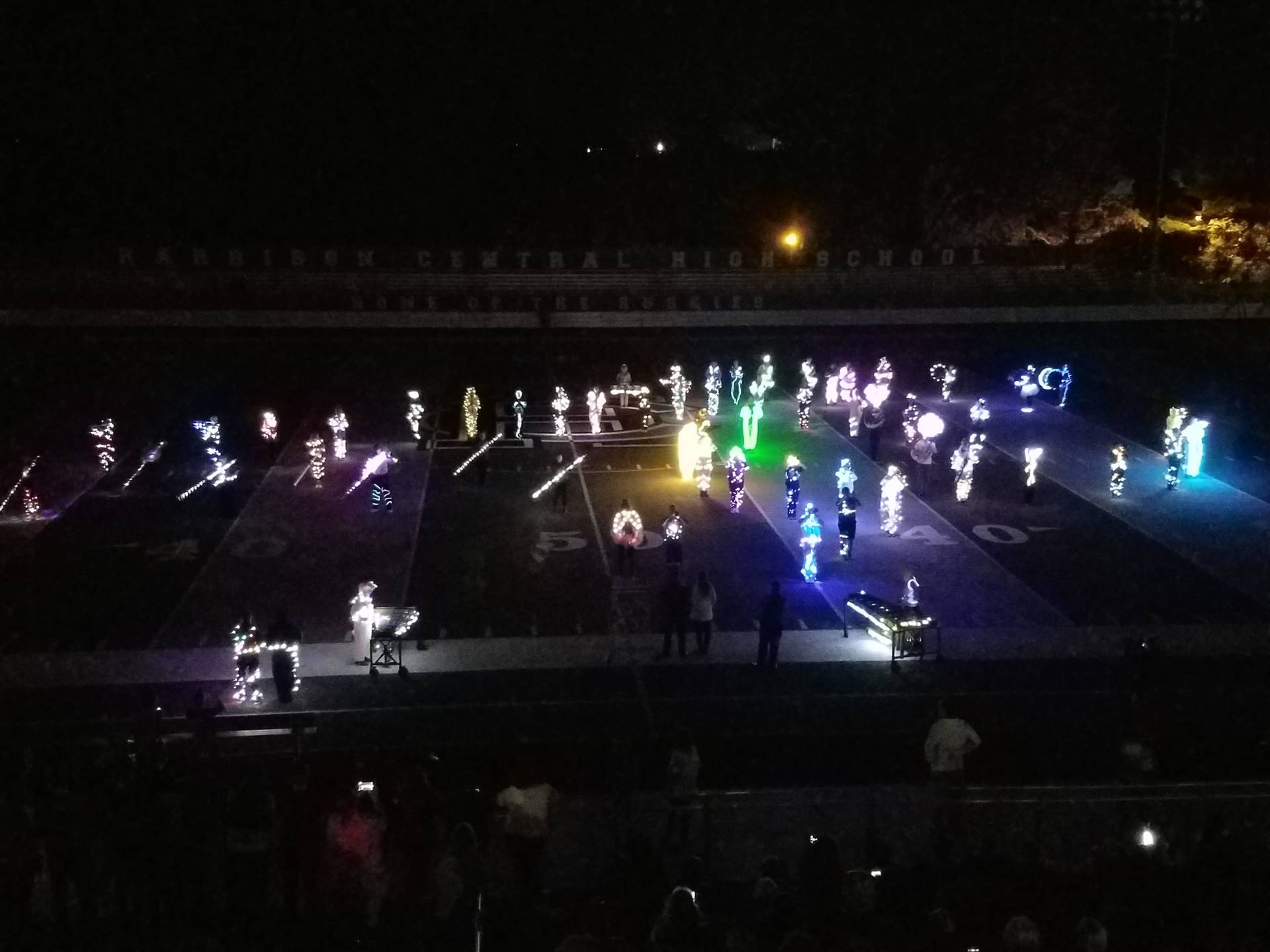 HC Band Lights Out Show picture